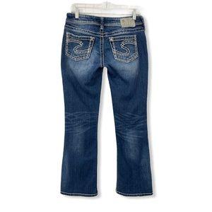 Silver Jeans Suki Boot Cut Bootcut Blue Stretch 29